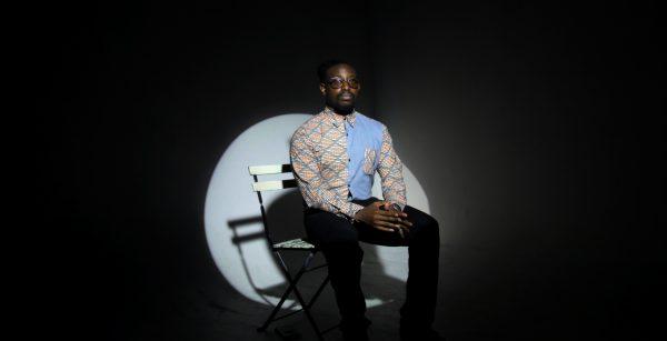 Ian Keteku, spoken word artist, Behind the scene – 2017